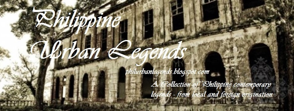 The Philippine Urban Legends