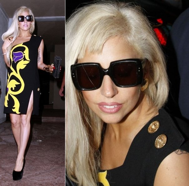 lady gaga looks shocking normal lovesepphoras