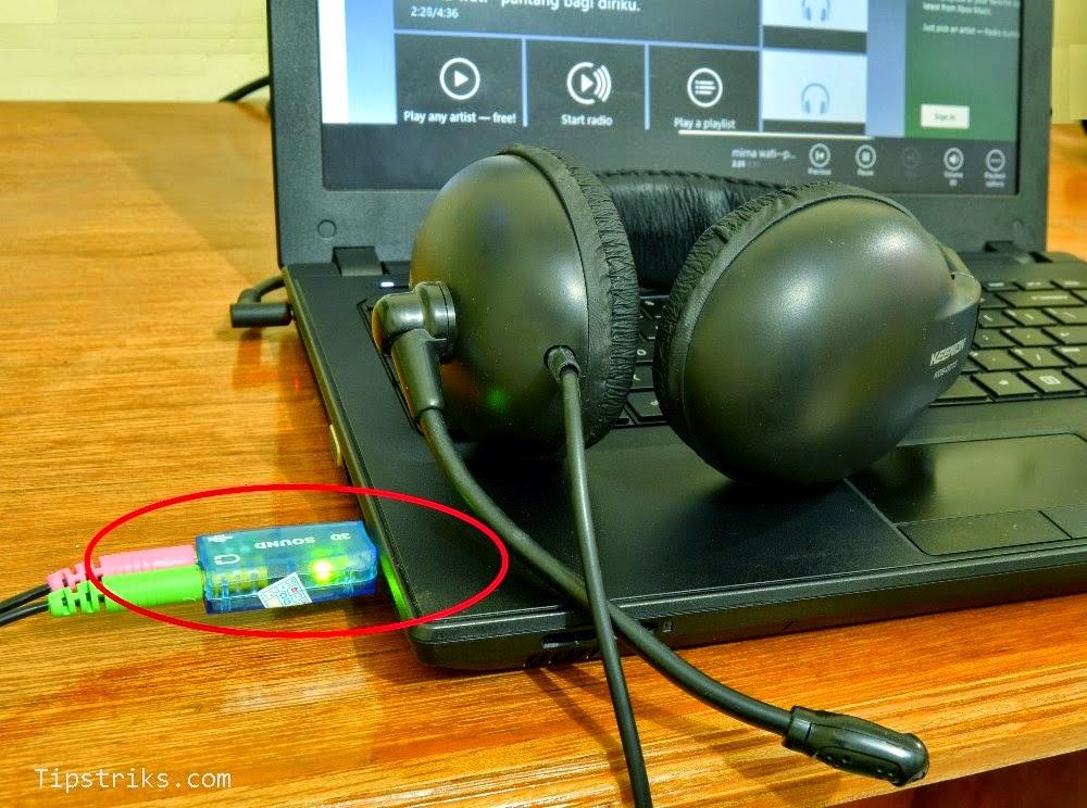 Solusi Sound Card