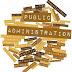 Sejarah, Asal Usul Lahirnya Ilmu Administrasi Negara (Public Administration)