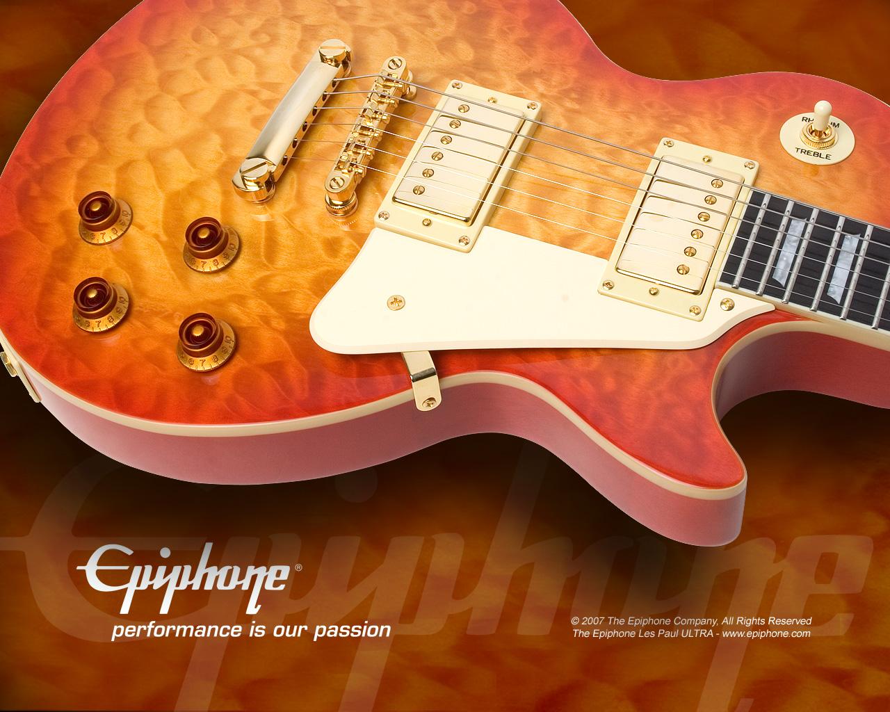 Wallpapers guitarras electricas en hd taringa - Epiphone les paul wallpaper ...