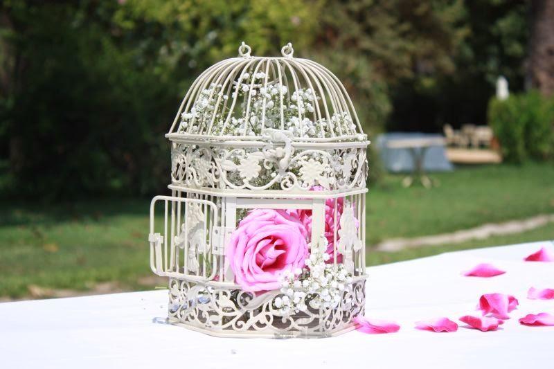 Jaulas Decoracion Bodas ~ una boda Shabby Chic  Bodas con detalle  Blog especializado en bodas