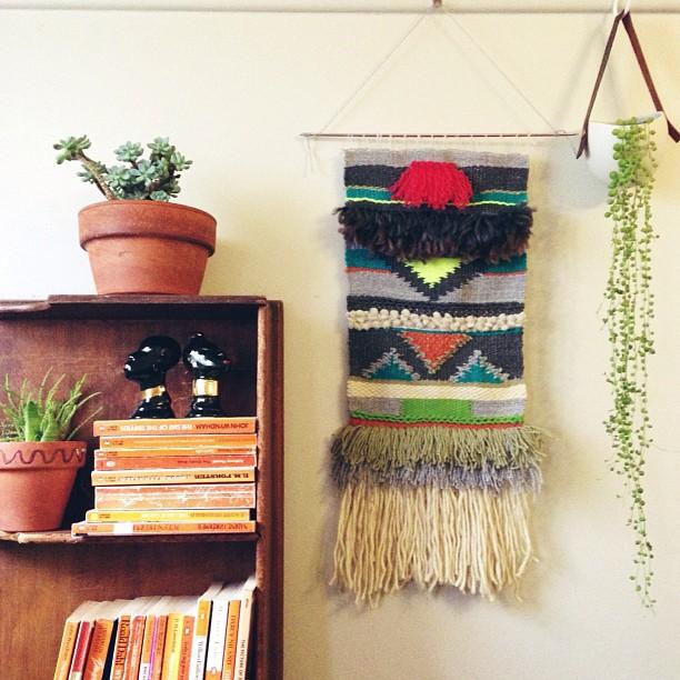 Weaving Wall Hanging moon to moon: weaving: maryanne moodies wall hangings