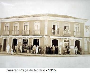 SOBRADO DA PRAÇA DO ROSARIO EM 1915