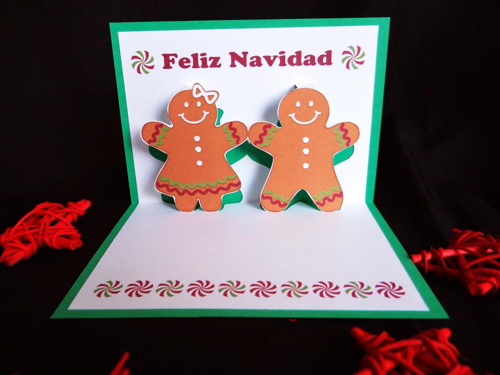 tarjetas 3d navidad - Tarjeta De Navidad En 3d