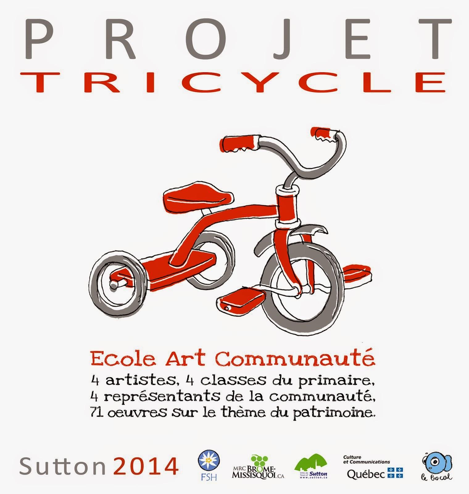affiche projet Tricyle EAC