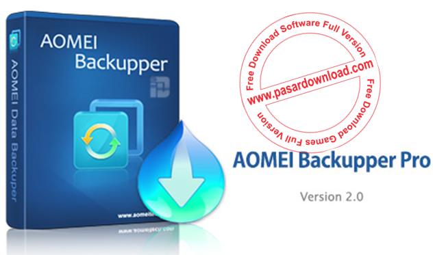 Download AOMEI Backupper Professional v2.0 Full Version