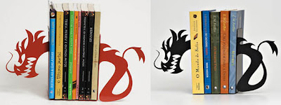 Creative Dragon Bookends