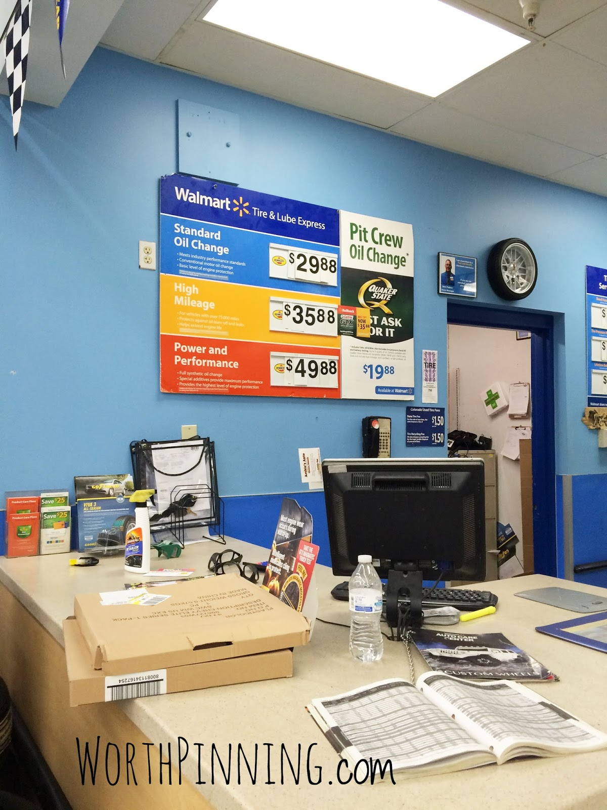 Walmart car service oil change hours 5