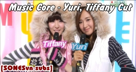[Vietsub] Music Core – Yuri, Tiffany Cut