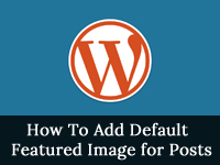 default featured image for posts
