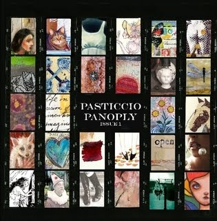 6 x 6 Collage Art  in Pasticcio Panaply Issue 1