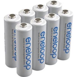 Sanyo Eneloop AA Rechargeable Batteries
