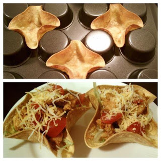 Make Tortilla Bowls