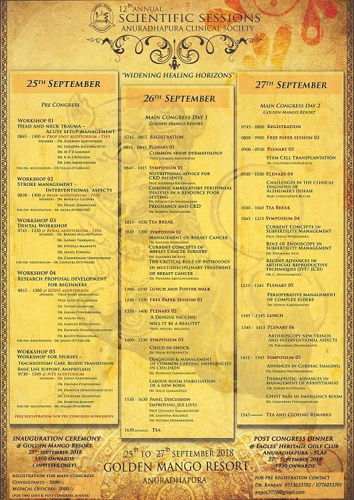 Annual Scientific Sessions - 2018