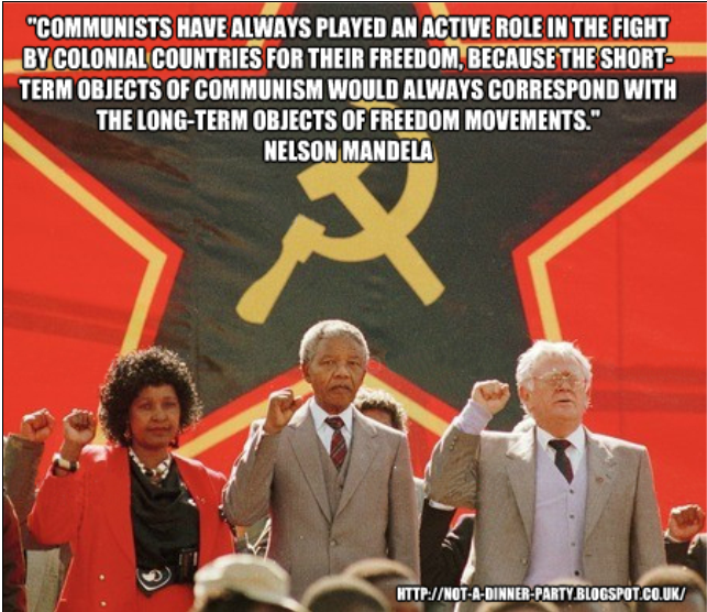 belle notizie, brutte notizie - Pagina 23 Mandela+a+Communist