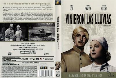 Cover, caratula, dvd: Vinieron las lluvias | 1939 | The Rains Came