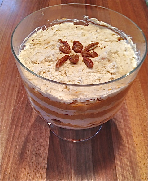 Kitchen Cactus: Pumpkin Praline Trifle
