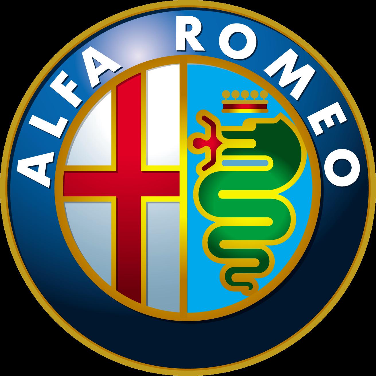 Alfa romeo emblem black 10