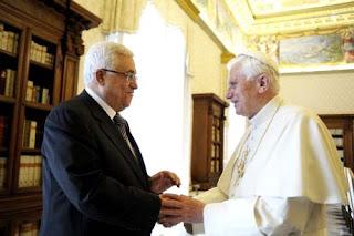 Palestiina :katolinen petos