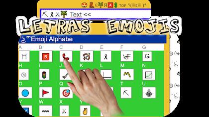 Letras Emojis 🔵👢🅰!