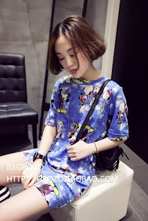 Jual Kaos Model Korea Wanita Terbaru