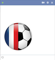 France football emoticon