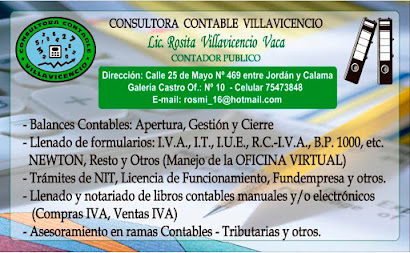SERVICIO DE CONTABILIDAD