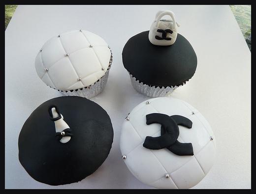 Chanel Tasarımlı Cupcake Modelleri