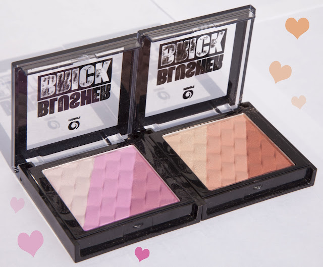 Miners Blusher Brick Pinks Browns
