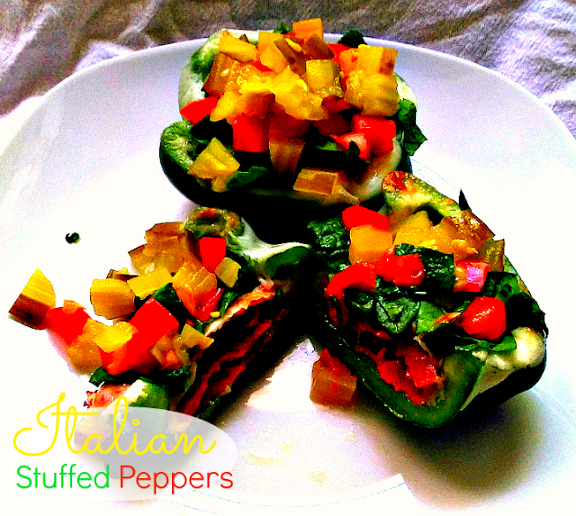 Paleo diet recipes; stuffed peppers; italian sub; recipes