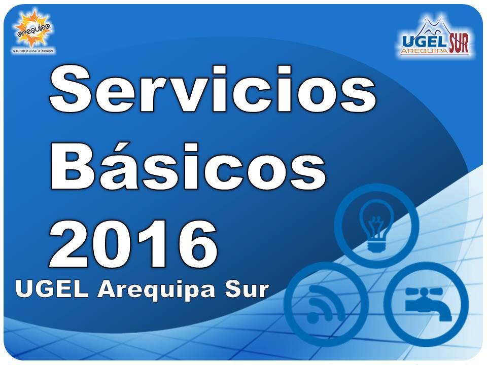 SERVICIOS BÁSICOS 2016