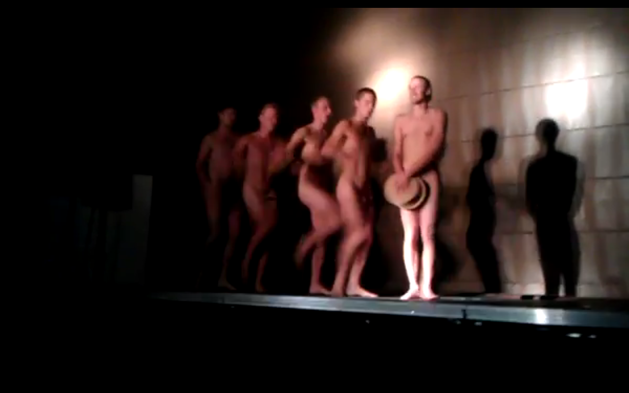 Swedish College Students Naked Bread Dance