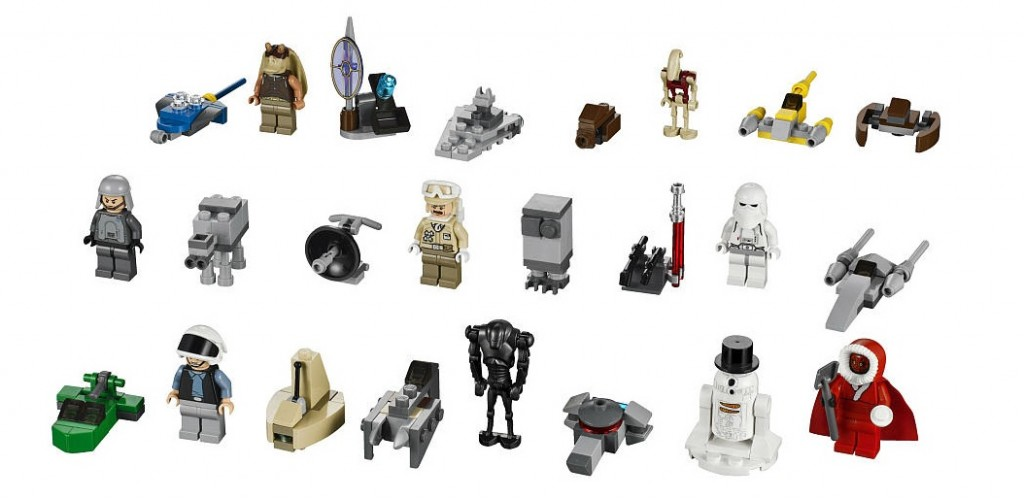 Brickstoy: LEGO Advent Calendar 2012 Star Wars