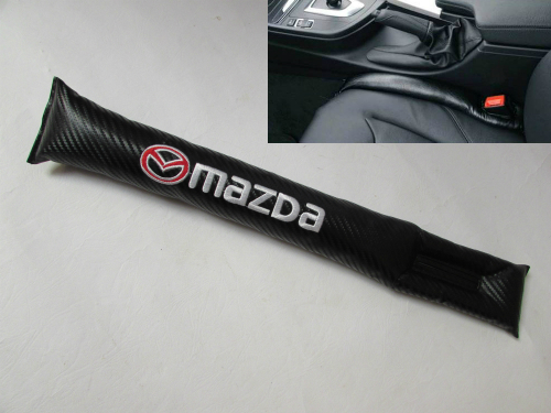 Car Seat Gap Mazda Carbon Fiber Hitam