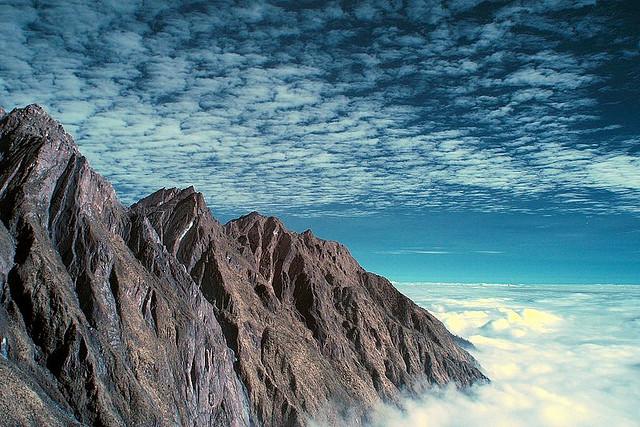 Keindahan puncak Jayawijaya