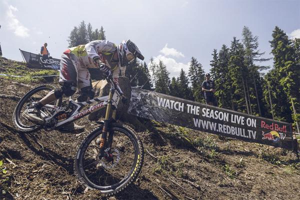 2015 Leogang UCI World Cup Downhill: Santa Cruz Syndicate