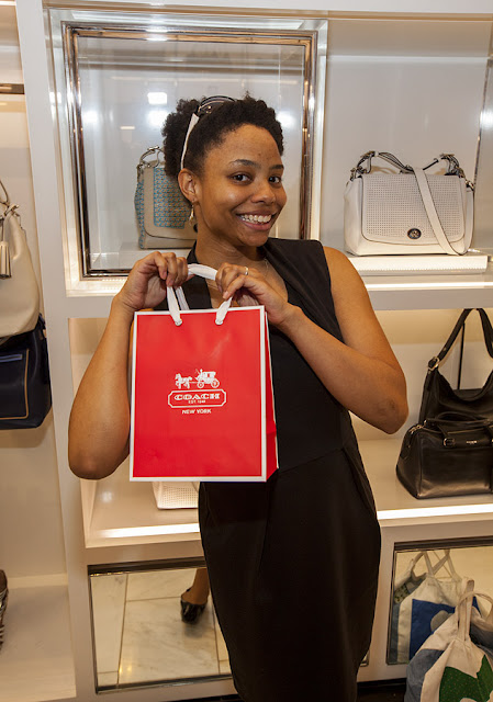 Fashion Junkies shop at Coach to support STEP UP WOMEN'S NETWORK