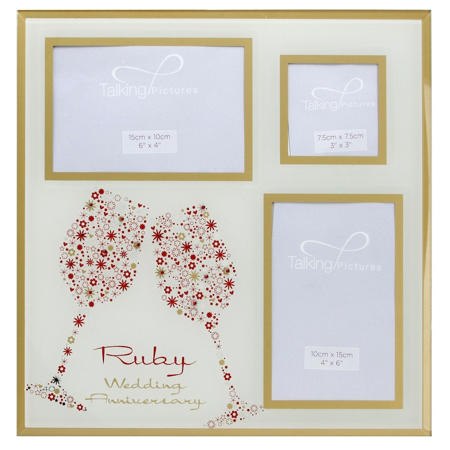 Make the 40th anniversary celebration special with ruby presents good gifts shop