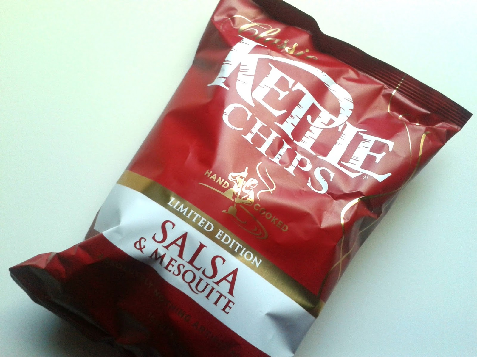 Winter Degustabox Limited Edition Classic Salsa & Mesquite Kettle Chips