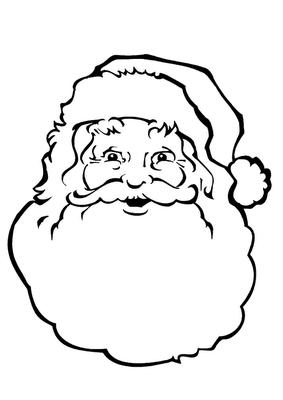 Imagens do Papai Noel Infantil Para Imprimir