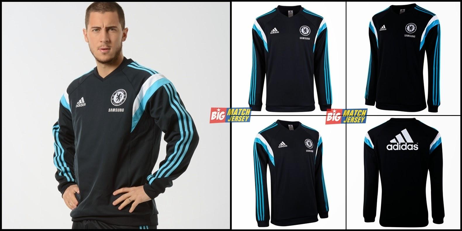Sweater Resmi Eden Hazard Chelsea Terbaru 2014 - 2015