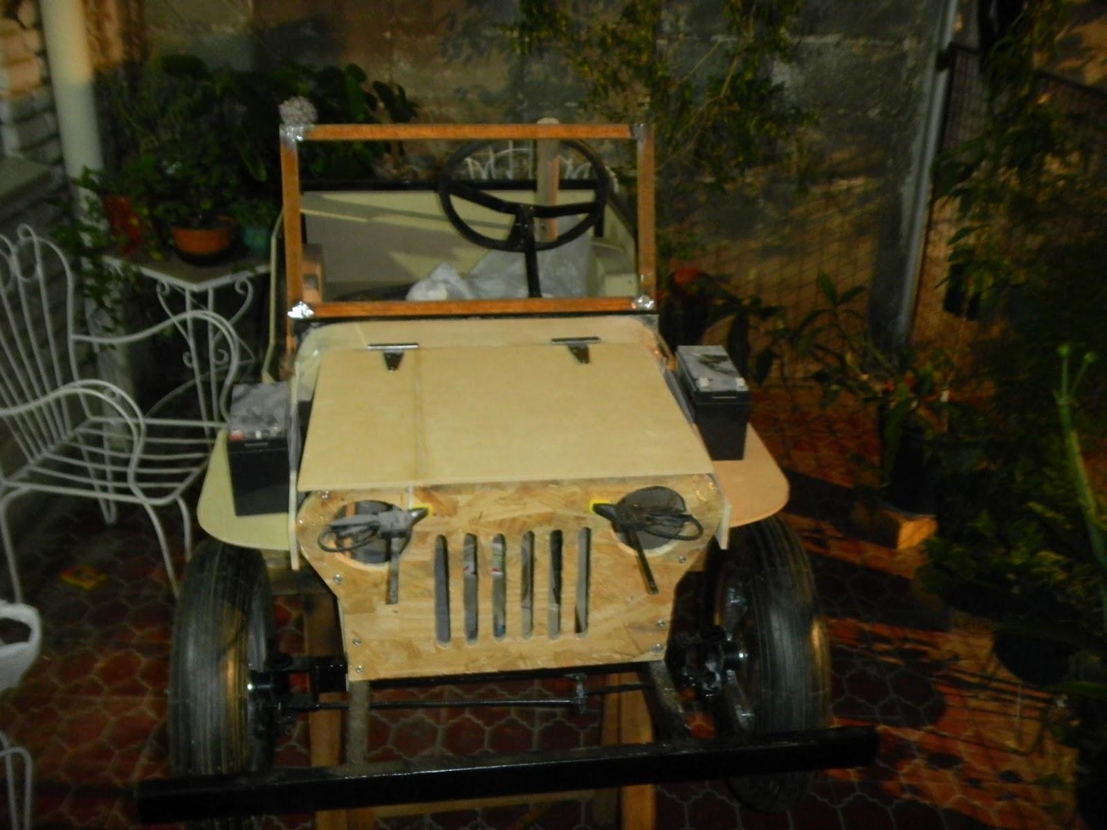 Ciencia Hobbies Un Mini Jeep Willys