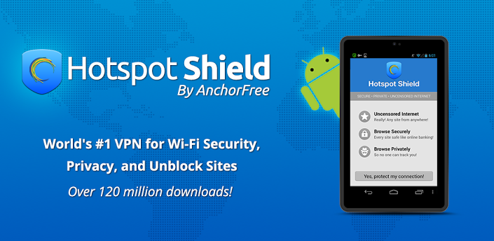 download hotspot shield full android