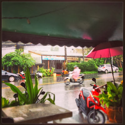 Rainy day in Phuket 28th October 2013