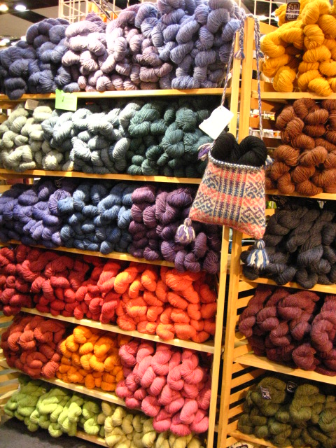 ASpinnerWeaver: Stitches West Knitting Conference