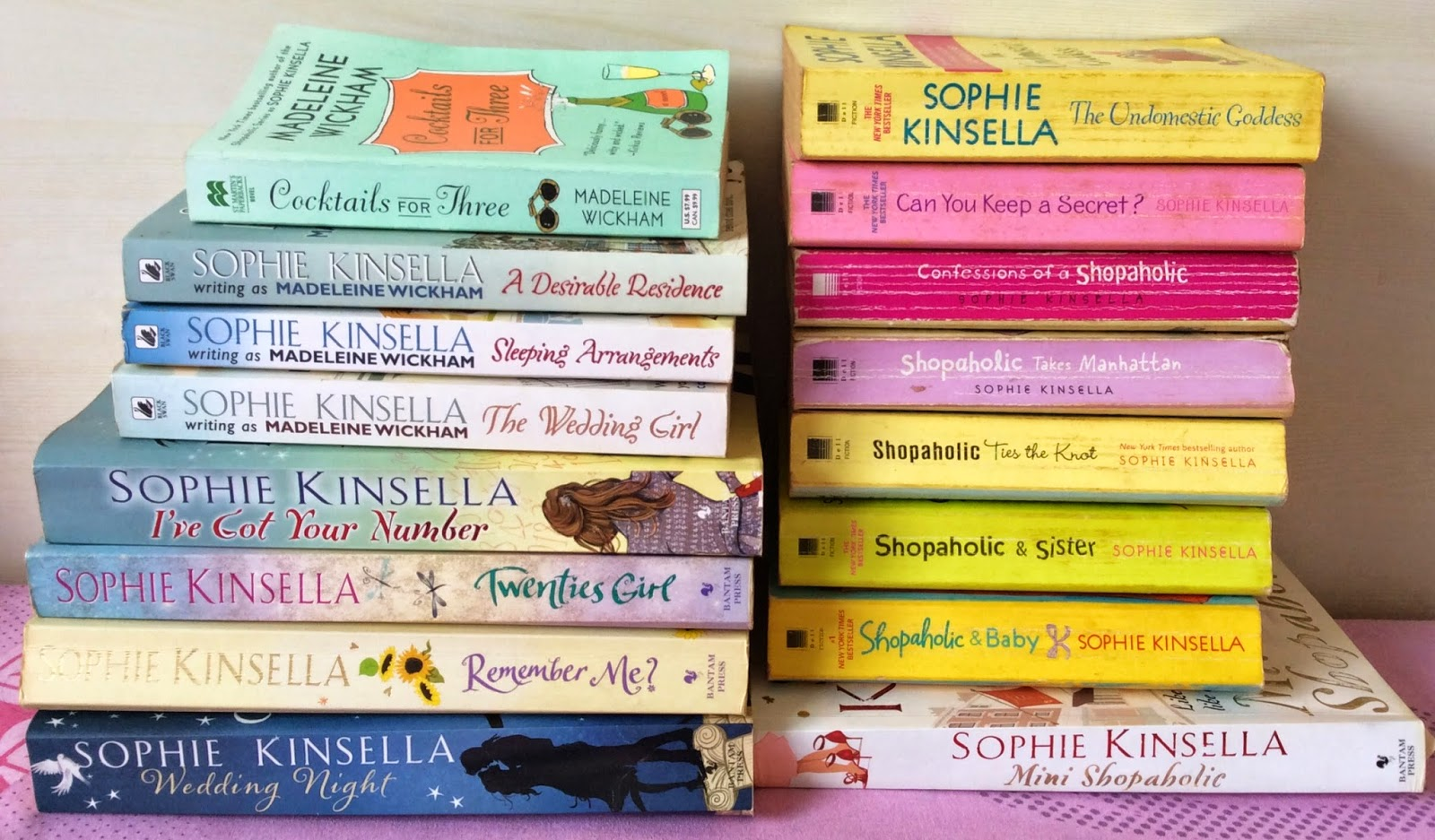 Chick Lit - Sophie Kinsella Books