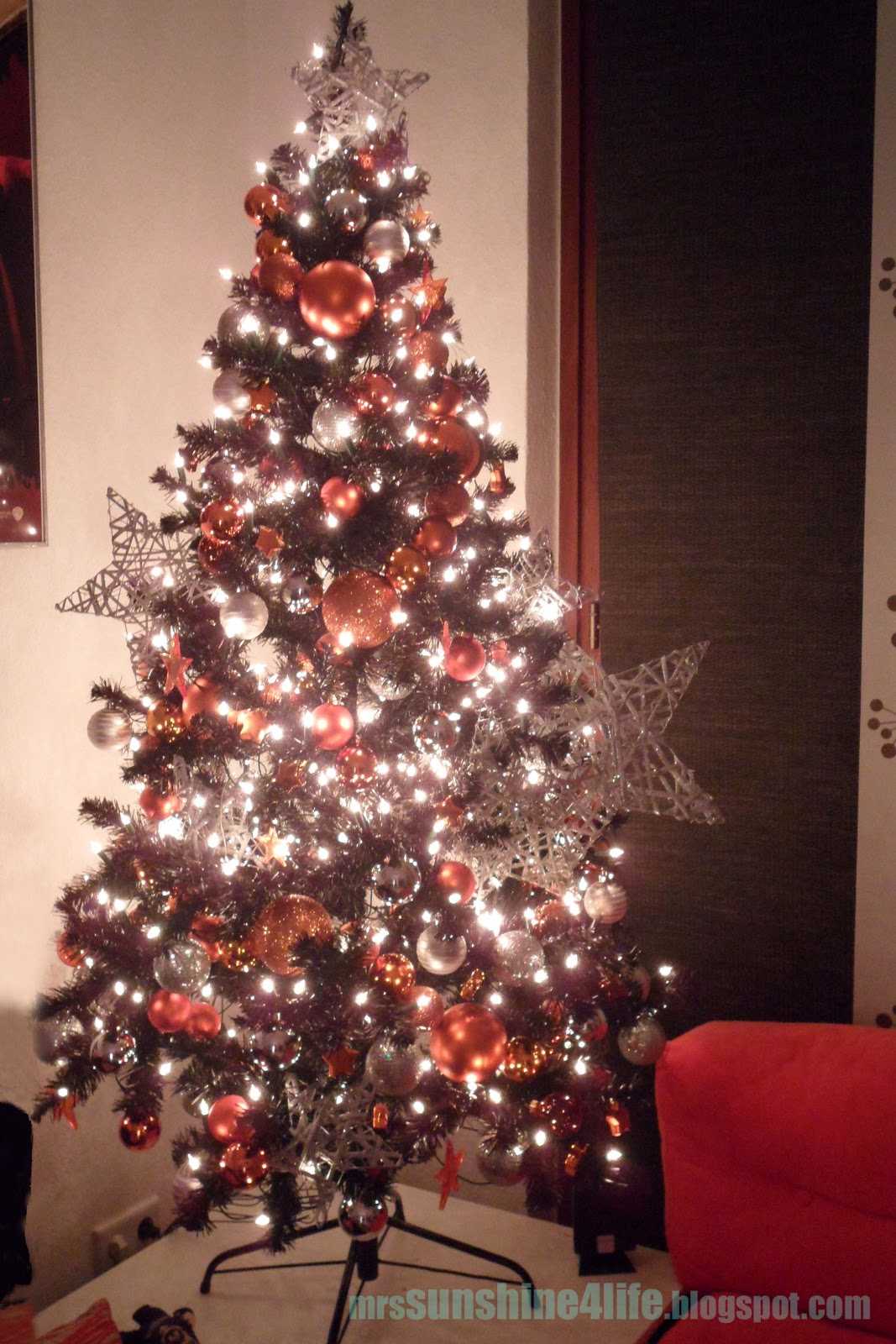 Sunshine4life november 2011 for Weihnachtsbaum rot silber
