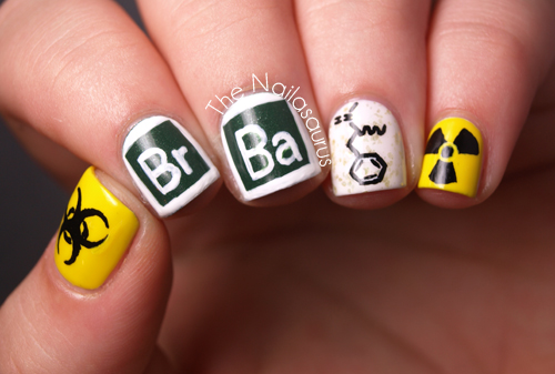 Theme But When I Posted These Yellow Nails Way Back Someone Said They Looked Like Breaking Bad So Thought D Slip Them In There Today