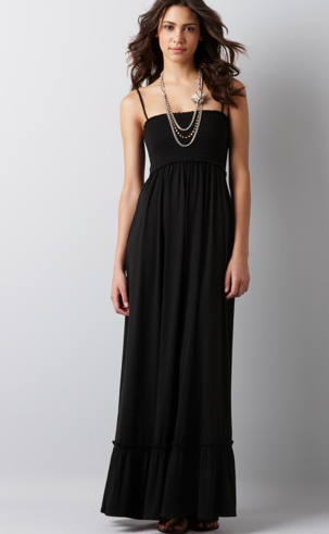 A maxi dress is a great choice for a beach wedding because you don 39t have to
